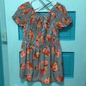 Speed Limit floral blouse